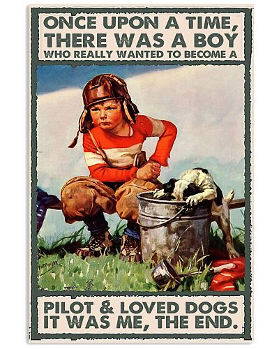 pilot dog boy once upon a time poster