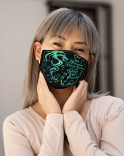 dragon the soul of an angel mas Cloth Face Mask - 3 Pack aos-face-mask-lifestyle-17