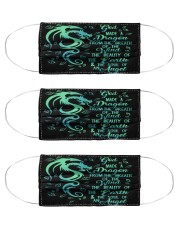 dragon the soul of an angel mas Cloth Face Mask - 3 Pack front