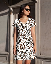 mushroom-fullpr All-over Dress aos-dress-front-lifestyle-1