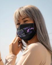 Purple Dragon I bury you mas Cloth Face Mask - 3 Pack aos-face-mask-lifestyle-20