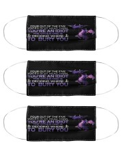 Purple Dragon I bury you mas Cloth Face Mask - 3 Pack front
