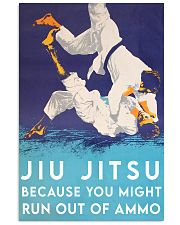 jiu jitsu ammo poster 11x17 Poster front