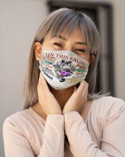 hairstylist salon mas Cloth Face Mask - 3 Pack aos-face-mask-lifestyle-17