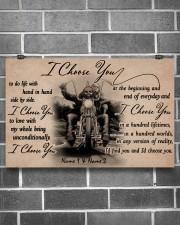 Biker I choose you customize pt lht ngt 17x11 Poster aos-poster-landscape-17x11-lifestyle-18