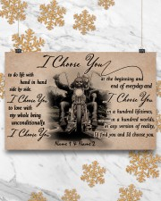 Biker I choose you customize pt lht ngt 17x11 Poster aos-poster-landscape-17x11-lifestyle-30