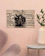 Biker I choose you customize pt lht ngt 17x11 Poster poster-landscape-17x11-lifestyle-22