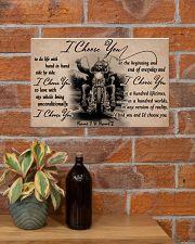 Biker I choose you customize pt lht ngt 17x11 Poster poster-landscape-17x11-lifestyle-23