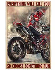 ducat look choose something fun poster 11x17 Poster front