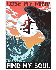 girl rock climbing soul poster 11x17 Poster front