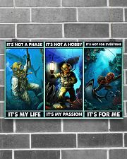 scuba diving not a phase pt phq ngt 17x11 Poster poster-landscape-17x11-lifestyle-18