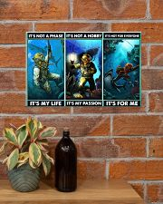 scuba diving not a phase pt phq ngt 17x11 Poster poster-landscape-17x11-lifestyle-23