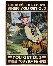 old man don't stop fishing pt phq ngt 11x17 Poster front