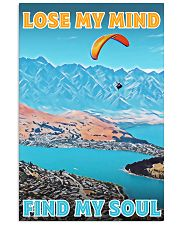 skydiving find my soul poster 16x24 Poster front