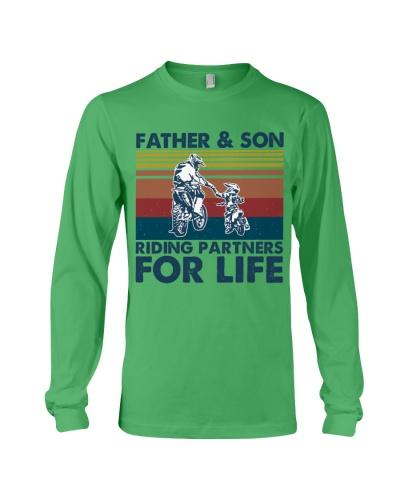 motocross father son partner