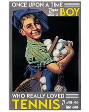boy tennis once upon a time 11x17 Poster front