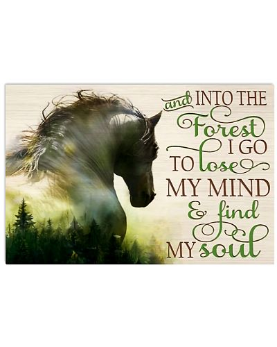 Horse And Into The Forest