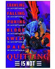 bjj quitting is not pt dvhh nna Vertical Poster tile