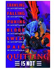bjj quitting is not pt dvhh nna 24x36 Poster front