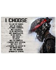 I choose poster 17x11 Poster front