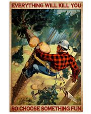 arborist tree choose fun pt lqt NTH 11x17 Poster front