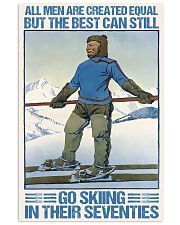 skiing in their seventies 11x17 Poster front