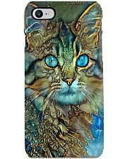cat digital art pc lqt ngt Phone Case i-phone-8-case