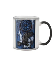eagle dreamcatcher polymer clay pc mttn pml Color Changing Mug thumbnail