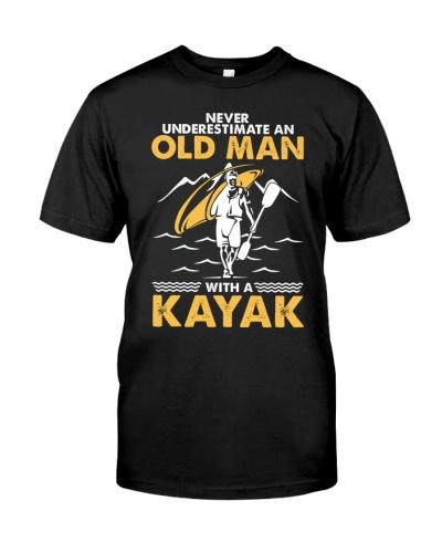kayak old man never