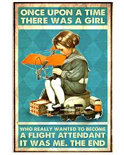 flight attendant once girl 11x17 Poster front
