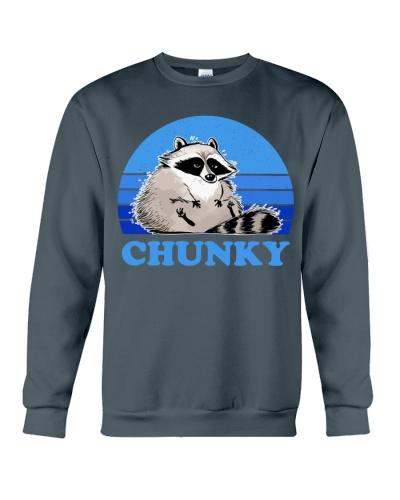 raccoon retro chunky
