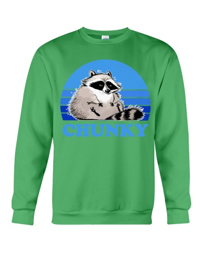 raccoon retro chunky