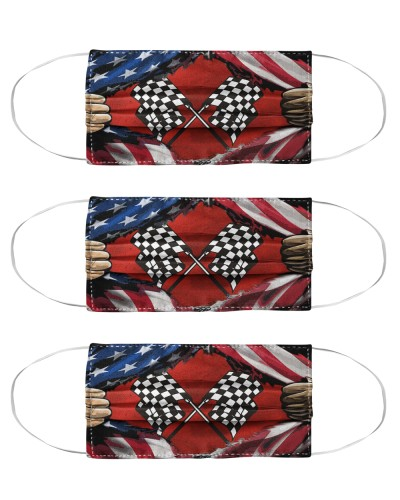 Dirt Checkered Flag Inside Mas