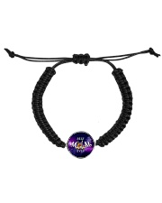 best-mom-sign-language Cord Circle Bracelet front