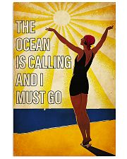 ocean is calling 11x17 Poster front