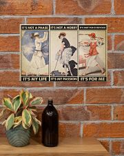 Lady Golfers It's not a phase retro ttb ngt 17x11 Poster poster-landscape-17x11-lifestyle-23