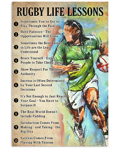 Rugby Life lessons