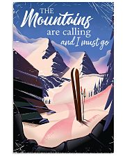 skiing the mountains are calling 2 11x17 Poster front