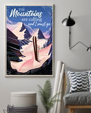 skiing the mountains are calling 2 11x17 Poster lifestyle-poster-1