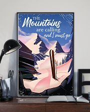 skiing the mountains are calling 2 11x17 Poster lifestyle-poster-2