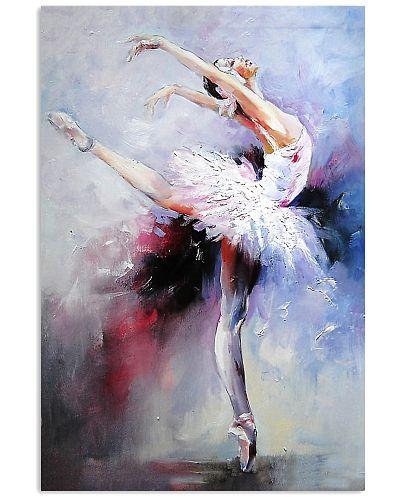 Ballet Dancer Colorful Art