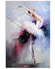 Ballet Dancer Colorful Art 16x24 Poster front