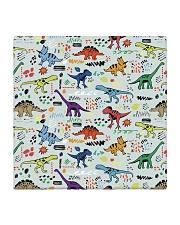 dinosaurs pattern mas Square Coaster thumbnail