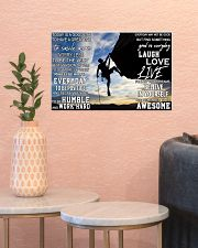 Rock climbing today is a good day pt dvhh pml 17x11 Poster poster-landscape-17x11-lifestyle-21