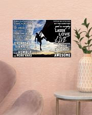 Rock climbing today is a good day pt dvhh pml 17x11 Poster poster-landscape-17x11-lifestyle-22