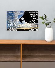 Rock climbing today is a good day pt dvhh pml 17x11 Poster poster-landscape-17x11-lifestyle-24