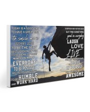 Rock climbing today is a good day pt dvhh pml 30x20 Gallery Wrapped Canvas Prints thumbnail
