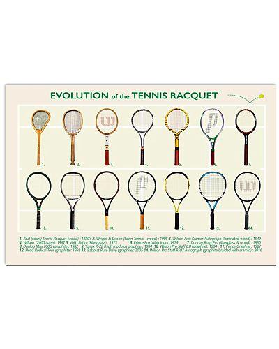 Evolution of the Tennis Racquet