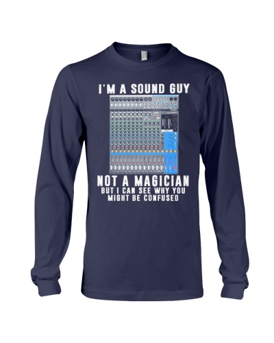 Audio engineer not a magician