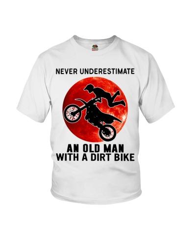 motocross dirt bike An Old Man